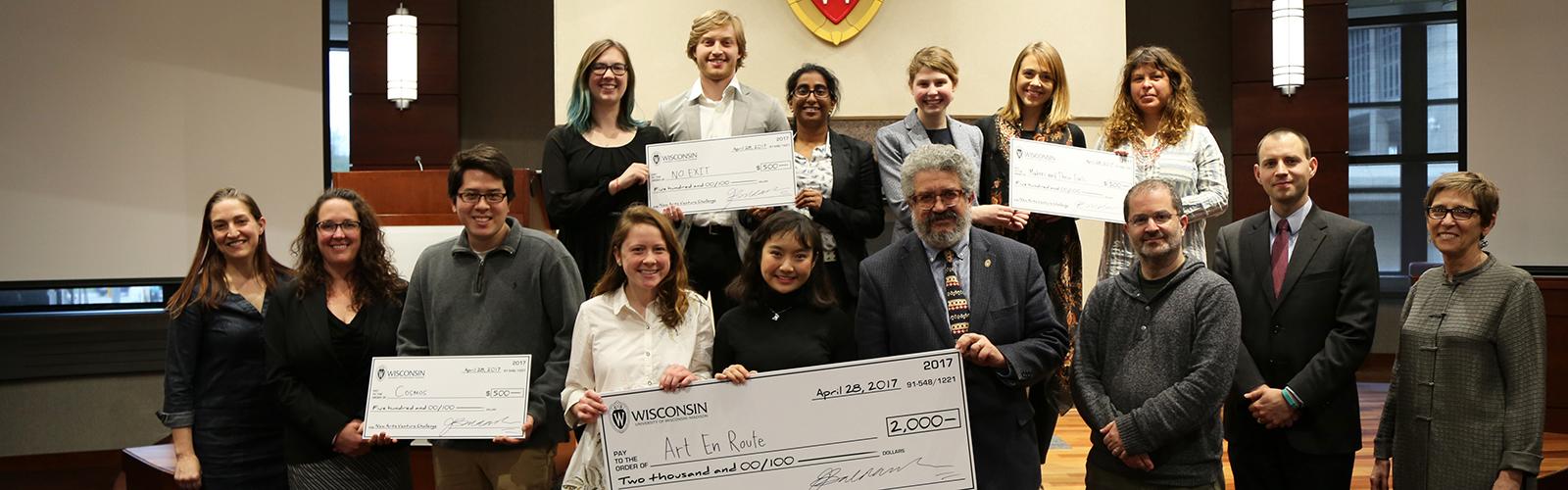 New Arts Venture Challenge recipients