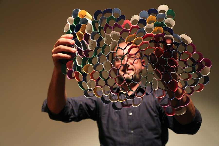 Art and Technology Inspired by Nature with Peter Krsko, October 2016. Photo: Aliza Rand