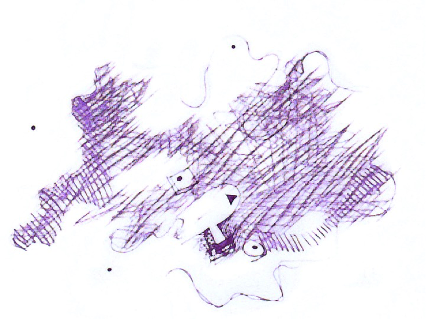 sketch of a map