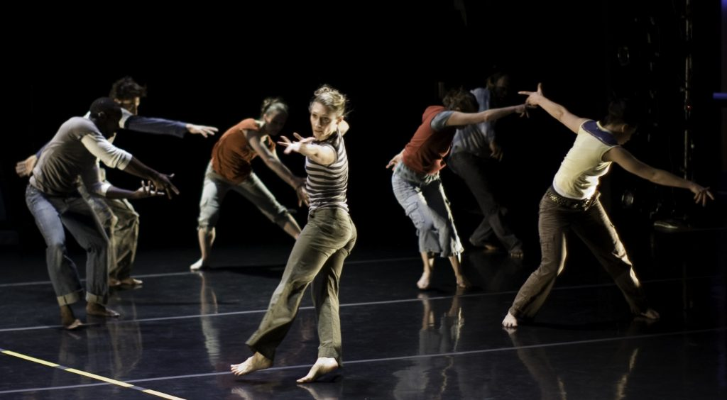 Carrie Hanson dancing with The Seldoms