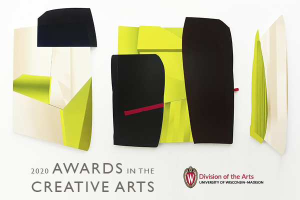 2020 Awards in the Creative Arts header