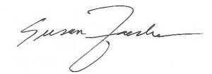 Susan Zaeske signature