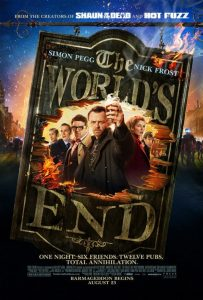 poster from the movie The World's End